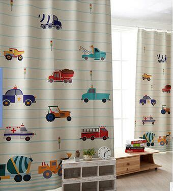Verdunkelungsvorhang Kinderzimmer Junge by Modern Car Printed Cloth Blackout Bedroom Curtain