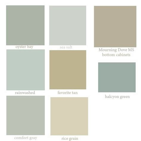 sea glass colors sherwin williams paint colors