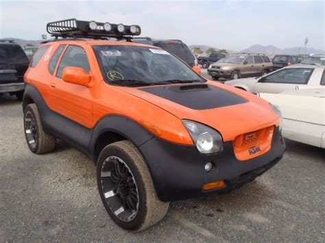 Isuzu Vehicross Uk Wrecked 1999 Isuzu Vehicross For Sale In Ca San Diego