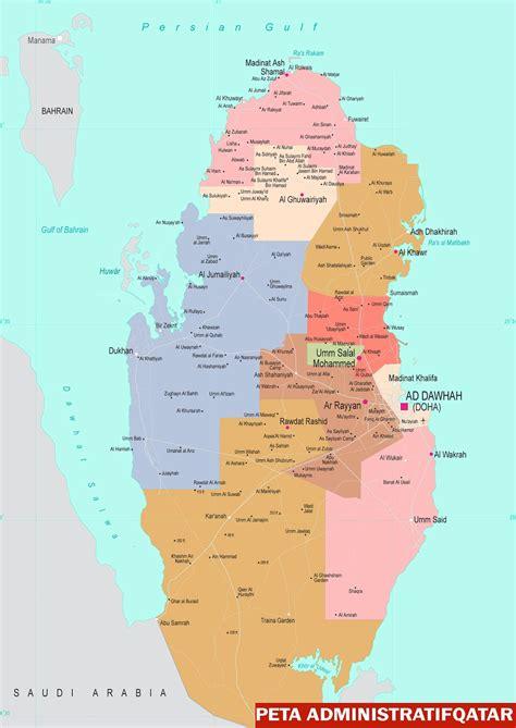 Oleh Oleh Magnet Kulkas Negara Qatar 1 3 peta negara qatar sejarah negara