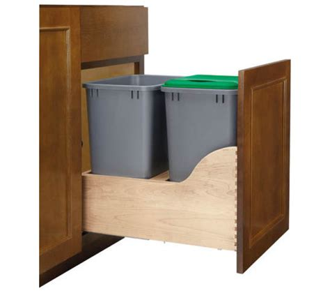 Kitchen Garbage Can Storage by Wooden Storage For Kitchen Garbage Can How To Build A