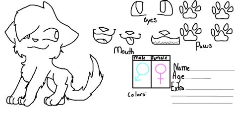 fursona base templates images search