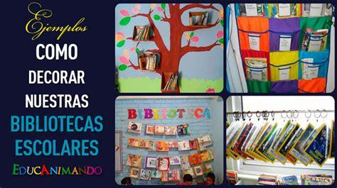 imagenes para bibliotecas escolares im 225 genes de como decorar la biblioteca del aula material