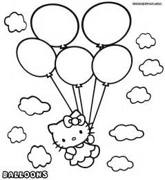 Balloon Coloring Pages  To Download And Print sketch template