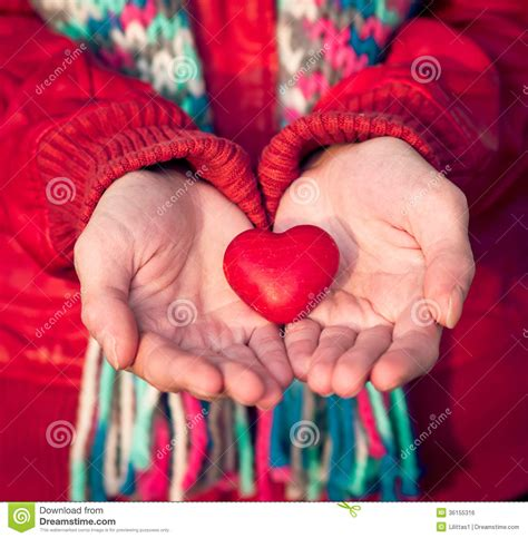 Heart Shape Love Symbol In Woman Hands Valentines Day Royalty Free Stock Image   Image: 36155316