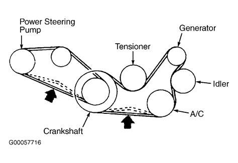 2010 mitsubishi lancer serpentine belt diagram wiring