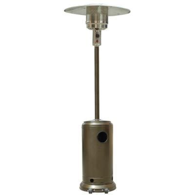 Garden Radiance 41 000 Btu Stainless Steel And Gold Patio Heaters At Home Depot