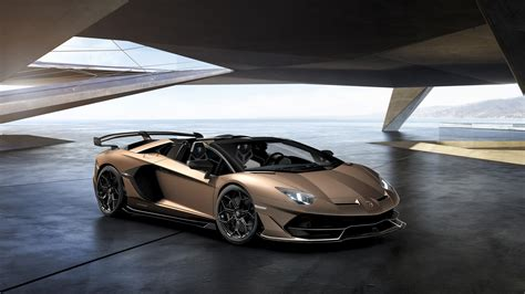 lamborghini aventador svj roadster wallpaper lamborghini aventador svj roadster 2019 4k 3 wallpaper hd car wallpapers id 12176