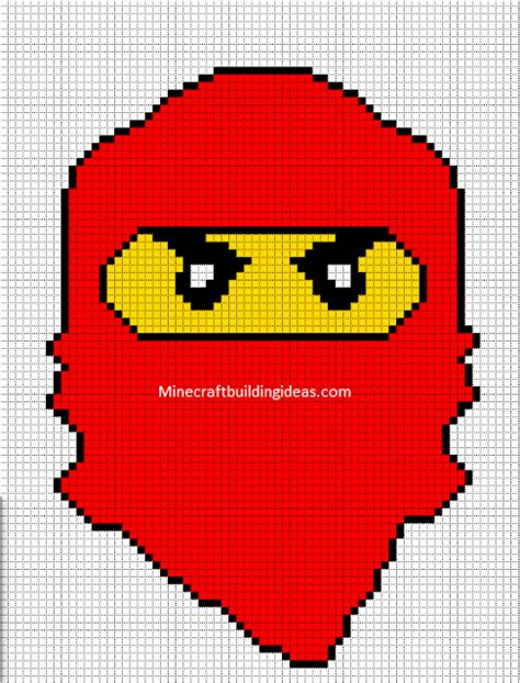 ninjago pattern lego red ninjago perler bead pattern perler beads