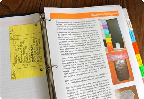 Luckeyfrog S Lilypad How To Make A Teacher Portfolio That Gets You The Job Teaching Portfolio Template Free