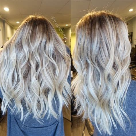 platinum blonde ombre hair 10 stylish blonde balayage color hair color ideas 2018