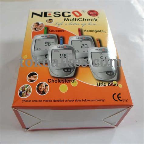 Uric Acid Asam Urat Nesco nesco glucose cholesterol uric alat mesin gcu
