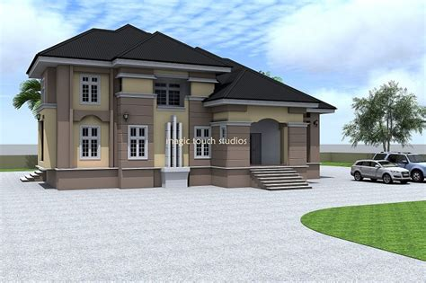 ghanian client 5 bedroom bungalow residential homes and architectural designs for nairalanders who want to build