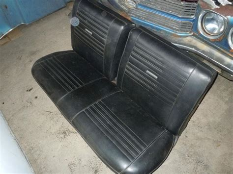 chevelle bench seat for sale sell 1964 1967 chevelle malibu bench seat black nice no