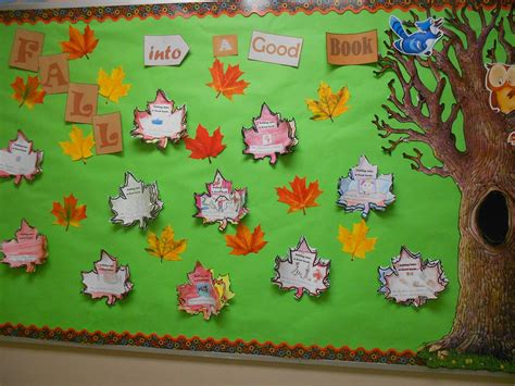 The Adventure Of Teaching A New Month Fall Into A Book Template