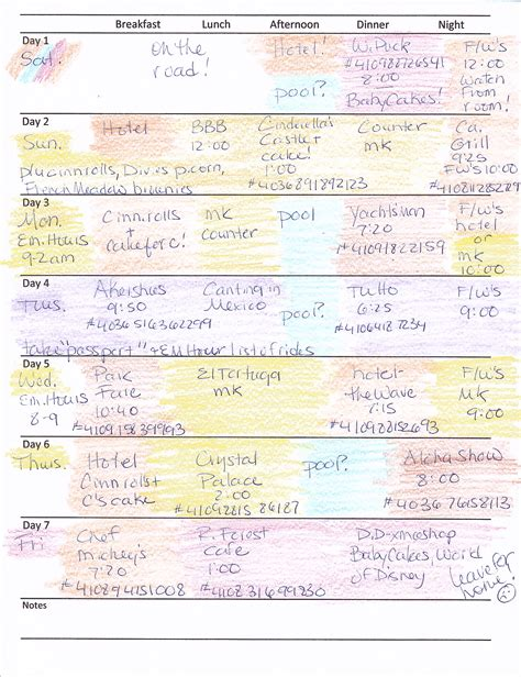 disney planner template disney daily planner calendar template 2016