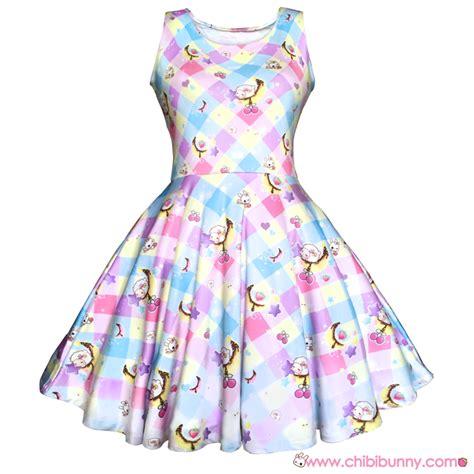 Rainbow Syar I Dress sweet moons kawaii skater dress and skirt sd24