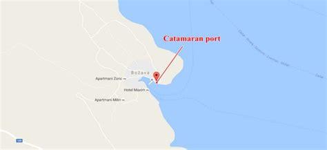 catamaran zadar to dugi otok božava catamaran port getting to and from božava dugi otok