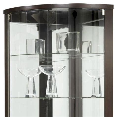 corner curio cabinet amazon amazon com pulaski cannes corner curio cabinet