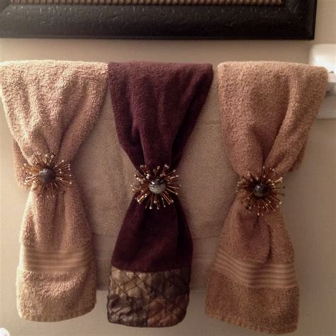 Bathroom Towel Decorating Ideas Decorative Bathroom Towels Best Home Ideas