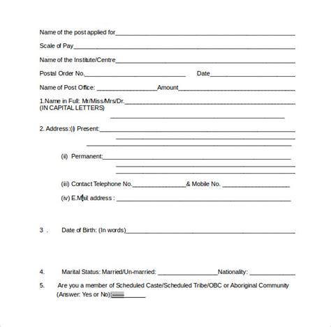 superior service application form 12 superior service application form templates to
