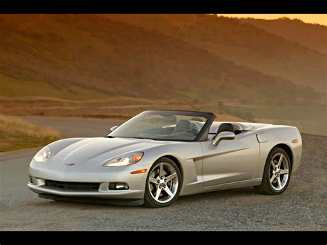 chevrolet corvette  convertible front angle