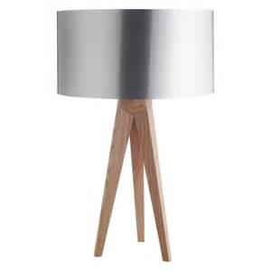 Small Desk Lamp Uk Tripod Ash Wooden Tripod Table Lamp Base Buy Now At