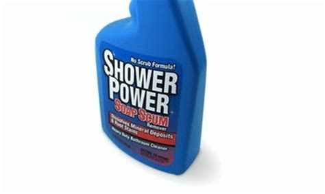 Cleaning Bathrooms Thriftyfun Shower Power Bathroom Cleaner