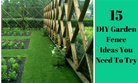 Easy Garden Fence Ideas 15 Easy Diy Garden Fence Ideas You Need To Try