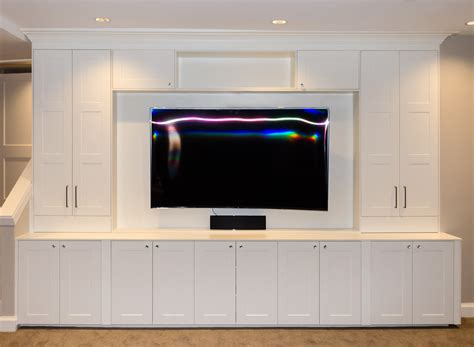 using ikea kitchen cabinets for entertainment center ikea media cabinet still stunning even tv s off homesfeed
