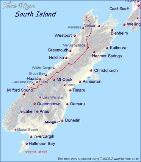 google images nz google maps new zealand south island toursmaps com