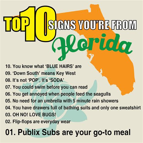 Florida Meme - top 10 signs you re from florida waterfront properties blog