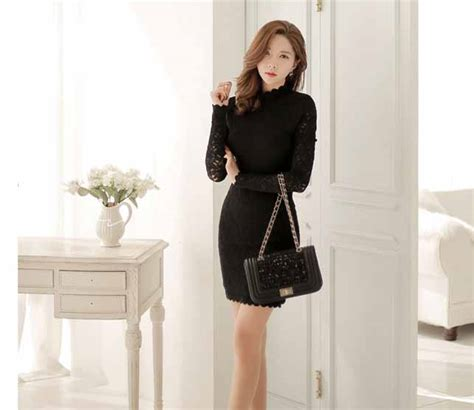 Ready Hitam Dress Kode 429 dress hitam terbaru 2016 myrosefashion