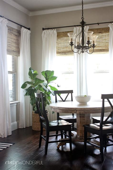 window treatments with blinds and curtains best 25 bamboo shades ideas on pinterest bamboo blinds