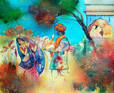 play all painting file holi kele nanda lala a painting jpg wikimedia commons