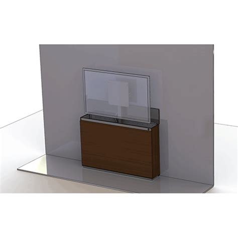audio visual furniture wall mounted credenza tv lift