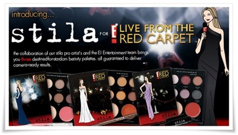 blockbuster collection carpet stila e live from the carpet ready blockbuster