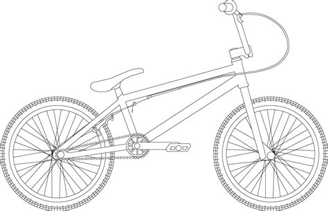 bike frame template bmx template by ashleyt123 on deviantart