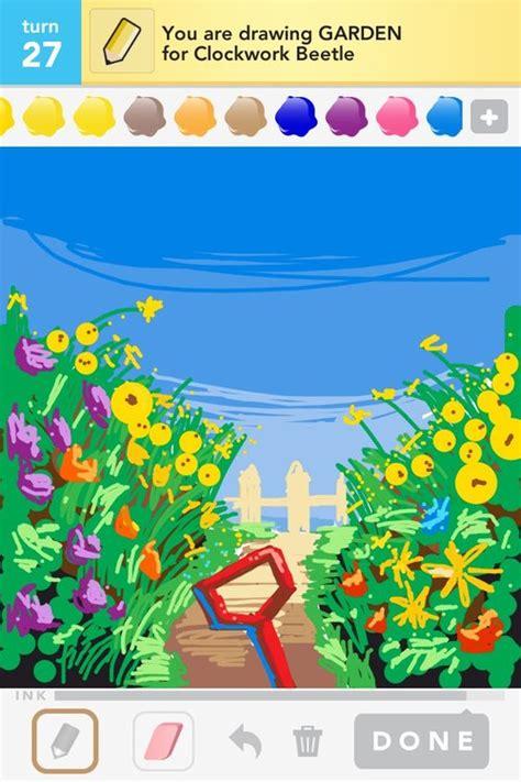 garden drawings   draw garden  draw