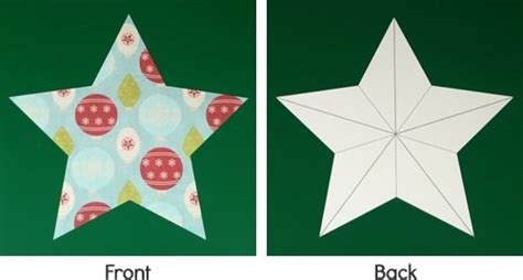 making christmas decorations easy 3d stars baubles and