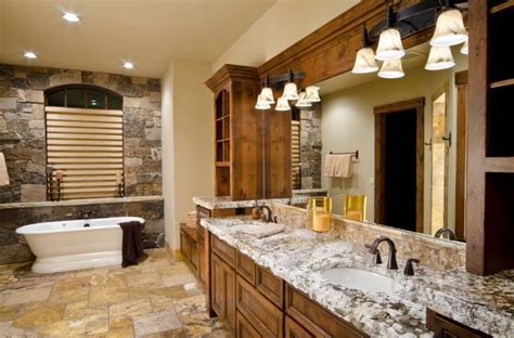 Log Cabin Bathroom by Log Cabin Bathroom