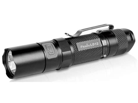 fenix ld12 flashlight led 1 aa battery aluminum black