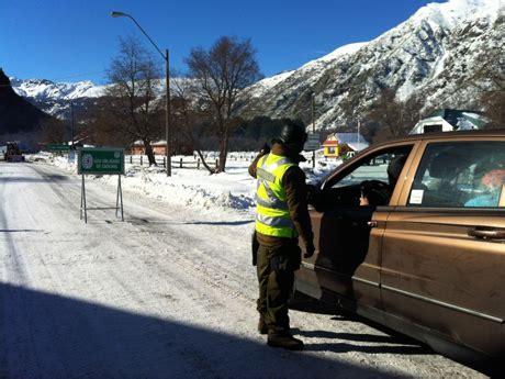 cadenas para nieve temuco comenz 243 a regir la fiscalizaci 243 n horaria y de cadenas en