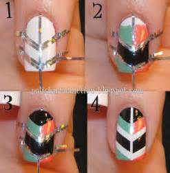 how to make cool shield nail art step by step diy
