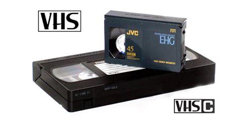 cassette vhs c numerisation et transfert cassette vhs vhs c sur dvd