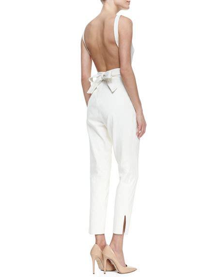 Andina Jumpsuit Bu Unique jimmy choo designer tamara mellon jumpsuit simply accessories