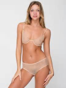 with pubic hair in see through american apparel embraces pubic hair