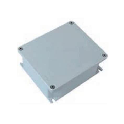 cassette atex scatola stagna di derivazione in alluminio grigia atex