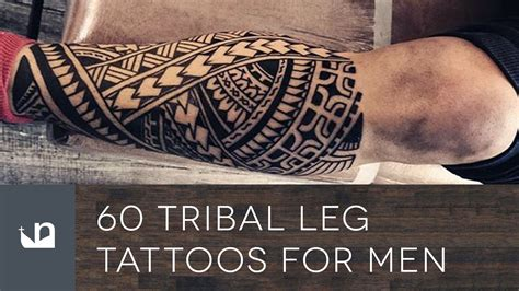 tribal thigh tattoos for men tribal for mens legs amazing