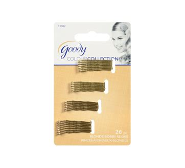 goody colour collection metallic small bobby pin black colour collection metallic small bobby pin 26 units